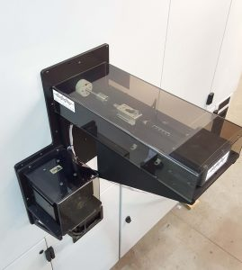 Environmental Chamber Encoder and Motor